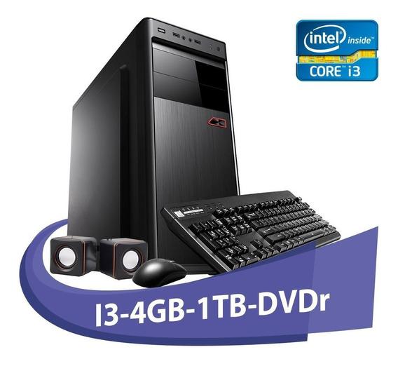 Computador Micro Rio I3-550 4gb Hd 1tb+ Dvd+kit