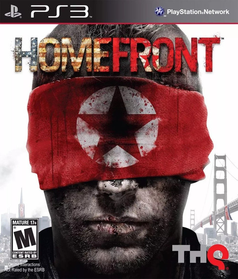 Homefront Playstation 3 Ps3 Mídia Física Original