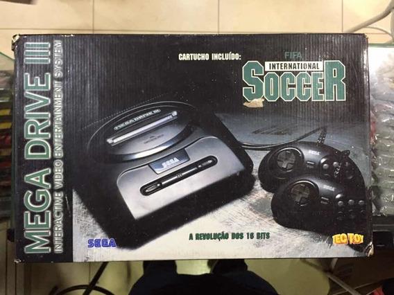 Mega Drive 3 Tectoy Edição Fifa International Soccer - Usado