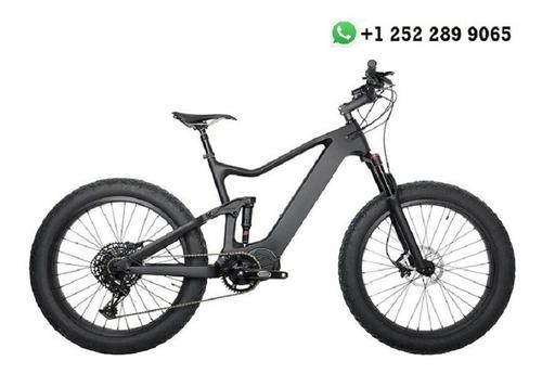 Imagen 1 de 3 de Carbon Fat Bike Electric Bicycle Bafang M620 1000w