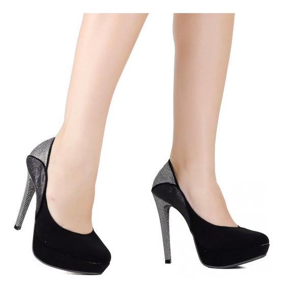 Sapato Feminino Via Marte Scarpin 19-1353