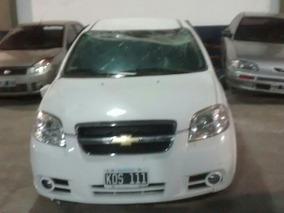 Chevrolet Aveo Lt 1.6n Mt Sedan 4 Ptas Mod 2011 Blanco