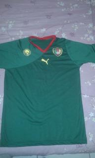 Camisa Da Seleção De Camarões