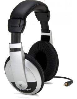 Auriculares Profesionales Estudio Samson Hp10 Cerrado Lujo