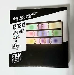 Film Cinemabox Bluetooth Speaker 12 Watts Stromberg Carlson