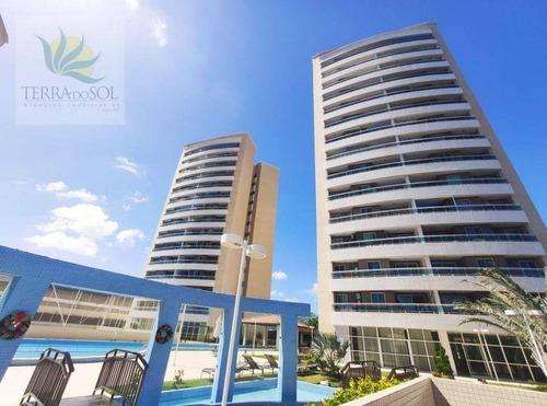 Imagem 1 de 30 de Apartamento Com 3 Dormitórios À Venda, 81 M² Por R$ 545.000 - Edson Queiroz - Fortaleza/ce - Ap0933