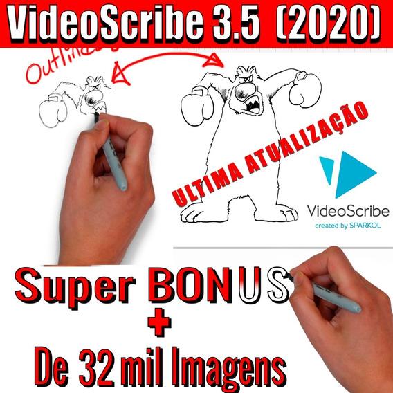 Videoscribe + Bônus Packs De Imagens Extras + De 32 Mil