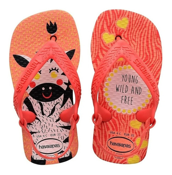 Chinelo Havaianas Infantil New Baby Pets