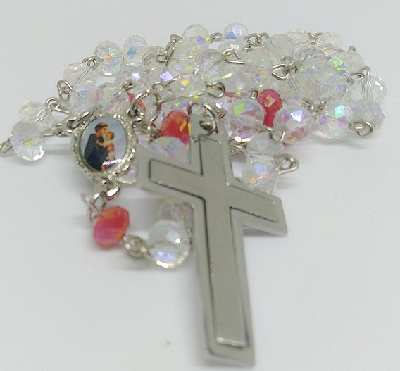 Rosário Terço De Santo Antônio Em Cristais