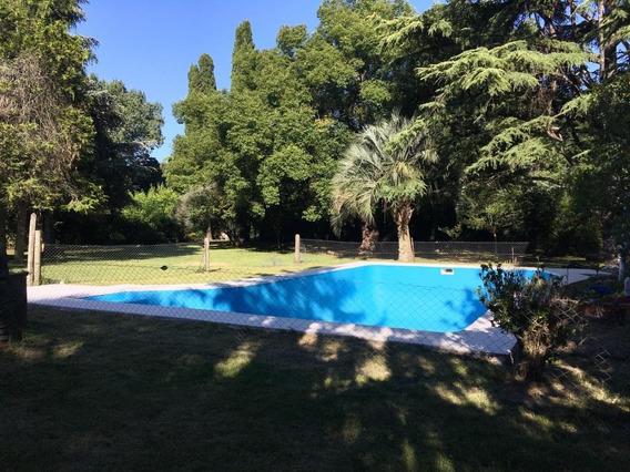 Casaquinta Con Pileta, Quincho Y Gran Parque Con Arboleda