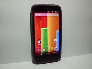 Moto G1 Xt1033 16gb Dual Sim Com Capinha - Leia A Descrição!