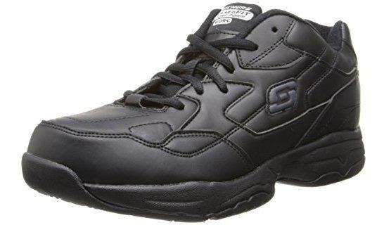 Skechers Albie Zapatos De Trabajo Para Hombre Antiderrapante