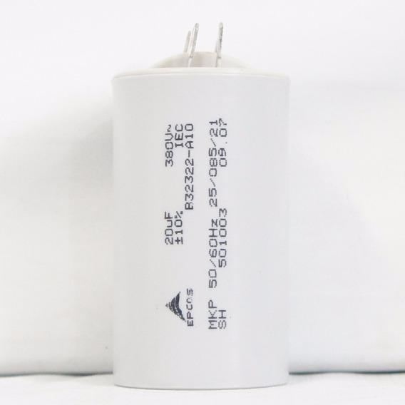 Capacitor Epcos 20uf 380v +-10% B32322-a10