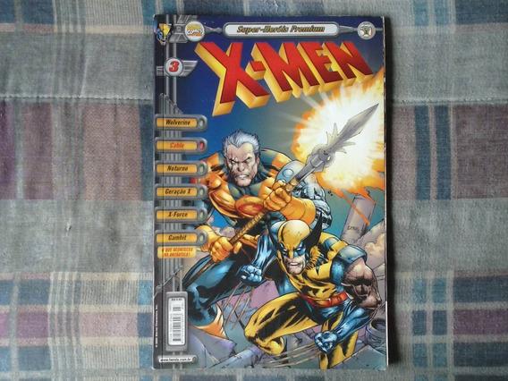 Revista Super-heróis Premium X-men Nº 3 - Português