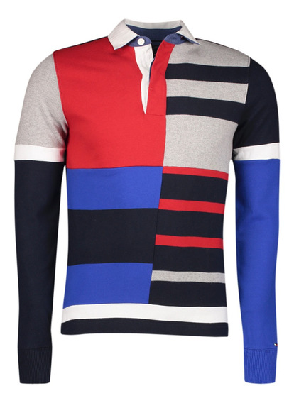 Polo - Tommy Hilfiger - Mw0mw03732902 - Multicolor Hombre