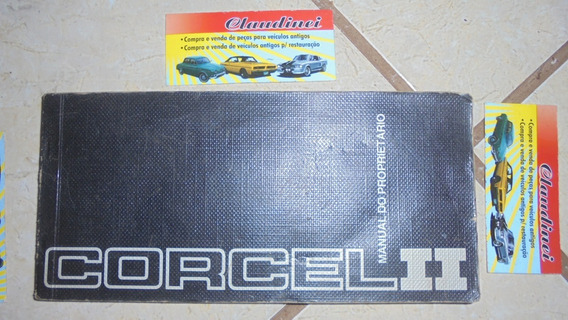 Corcel Ii 1978 - Manual Do Proprietário