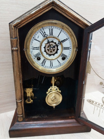 Relógio Antigo Capelinha Waterbury