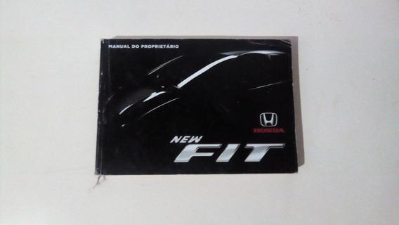 Manual Do Proprietariado Honda New Fit