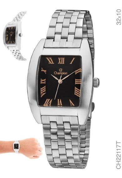 Relógio Analógico Unisex Social Champion Ch22117t