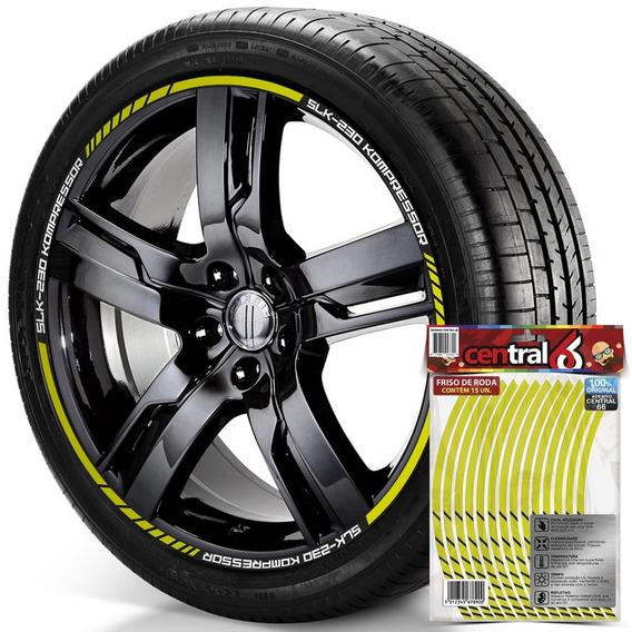 Filete De Roda Mercedes-benz Slk-230 Kompressor Amarelo
