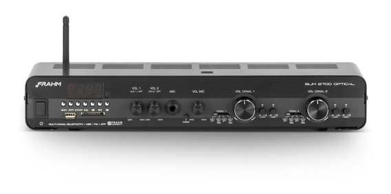 Amplificador Receiver Frahm Slim 2700 Optical Nota Garantia