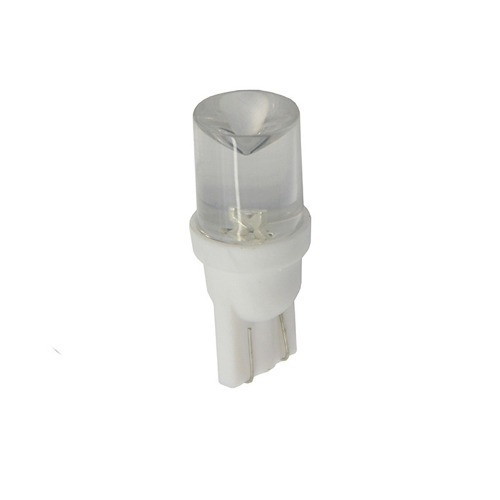 Lampara Led T10 24v 10mm Concava X50 Pares