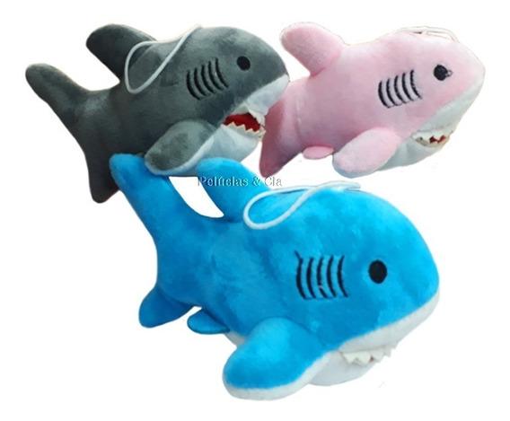 Tubarão De Pelúcia P - Animais Do Mar, Marinho - Trio