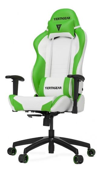 Silla Gamer Vertagear Serie Racing Sl2000 Blanco/verde