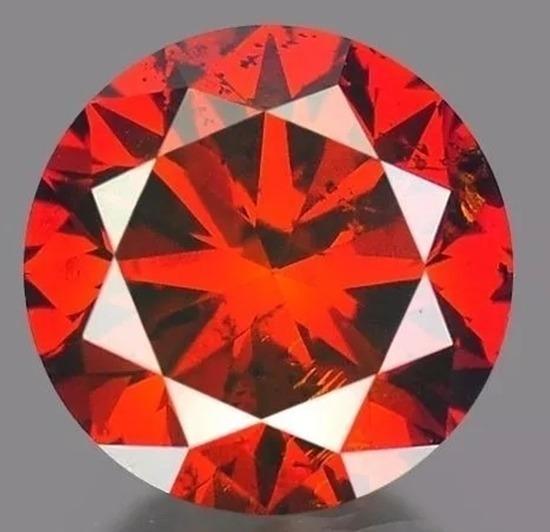 Diamante Rojo .15 Quilate 100% Natural