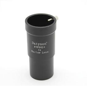 Barlow 5x Para Telescópio Refrator Refletor Lente Datyson
