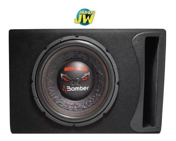 Subwoofer Bomber Bicho Papão 12 600w D. Bobina + Cajon Slot