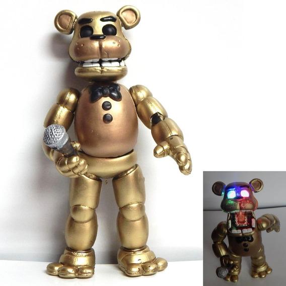 Five Nights At Freddys Figura Golden Freddy Articulado Luz
