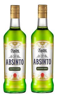 2 Unidades De Absinto Kosten Aperitivo Fante Bebidas 670ml