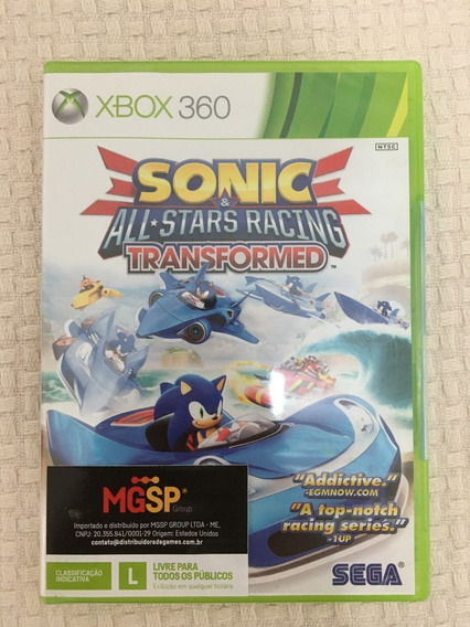 Sakura Games - Sonic Racing Transformed - Lacrado - Xbox 360