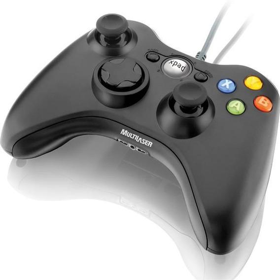 Controle Joystick Usb Para Xbox E Pc Js063 Multilaser