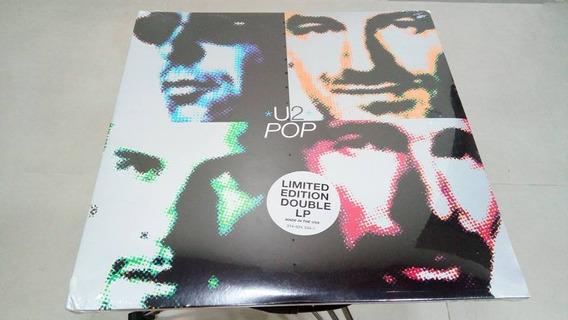 U2 Pop Lp Importado Disco De Vinil Disco