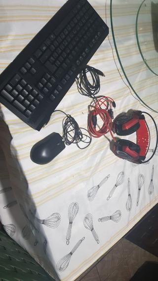 Kit Gamer Razer + Headset Satelite