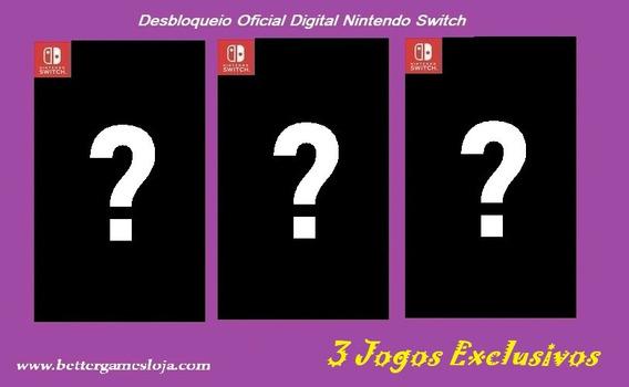 Donkey Kong Tropical Freeze + 2 Jogos - Nintendo Switch