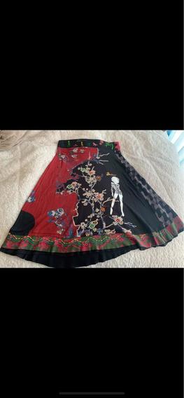 Falda Marca Desigual Original Talla S