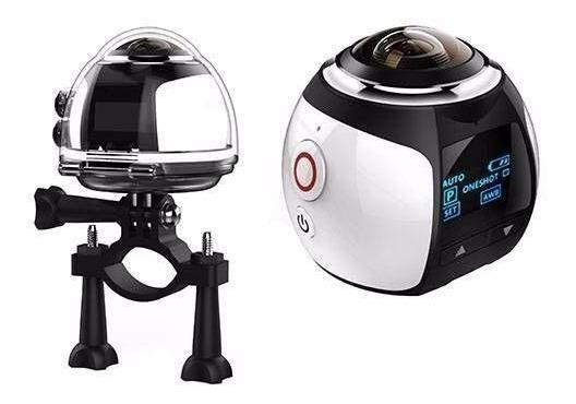 Nova Cãmera 360° Graus + Cartão Sd 64 Gb + Óculos Vr Max 3d