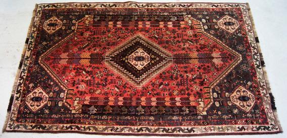 Tapete Shiraz Lã 265 X 160 Cm