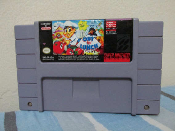 Out To Lunch Original Snes