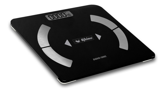 Full Bascula Digital Baño 180 Kg/10 G Bluetooth Imc Salud