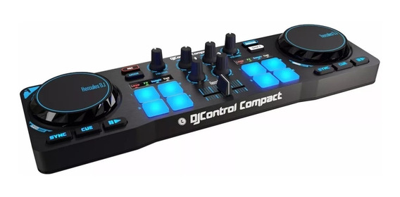 Controladora Dj Hercules Dj Control Compact + Dj Djuced
