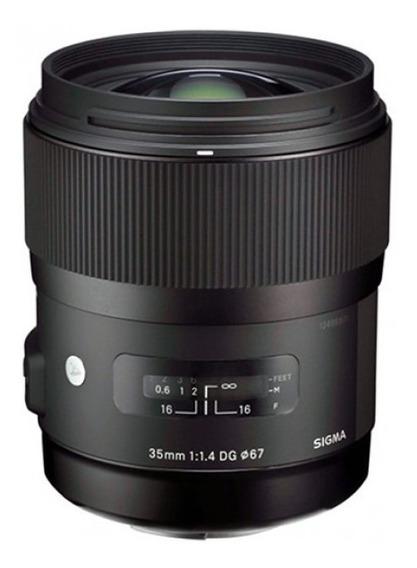 Lente Sigma Art 35mm 1.4