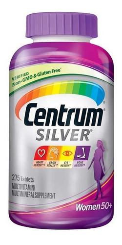 Centrum Silver Women 50+ Mulher Multivitaminico 275 Caps Usa