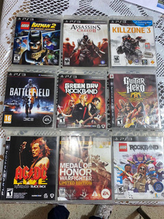 Juegos De Play Station 3, Lego, Guitar Héro, Assassins Creed