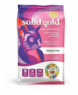 Comida Para Gatos Del Oro Sólido Seco; Katz-n-flocken Real C