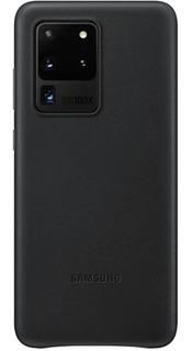 Funda Cuero Leather Cover Orig Para Samsung S20 Plus Ultra