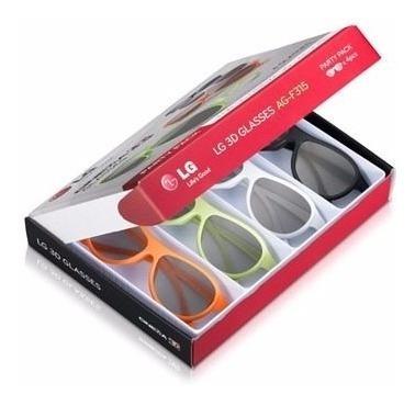Oculos 3d Passivo Ag-f315 Ray Ban De Lg! Original